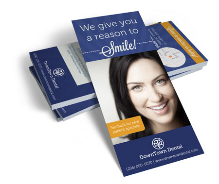 Dental Rack Cards