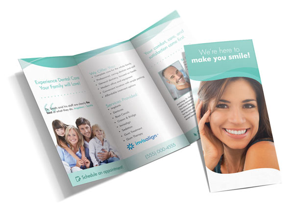 Dental Tri-Fold Brochure